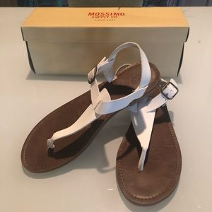 Mossimo White Thong Sandals